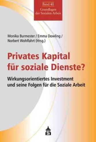Privates Kapital für soziale Dienste?