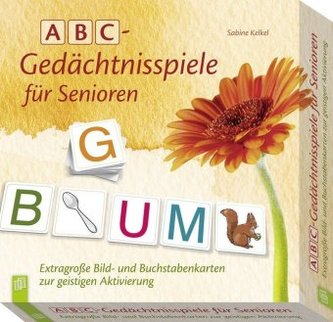ABC - Gedächtnisspiele für Senioren (Kartenspiel)