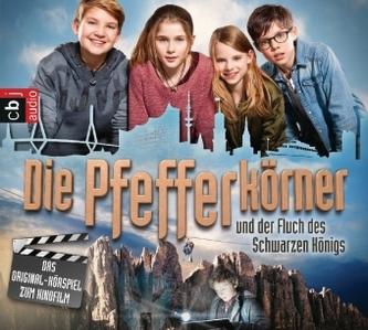 Die Pfefferkörner und der Fluch des schwarzen Königs, 2 Audio-CDs