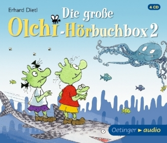 Die große Olchi-Hörbuchbox. Tl.2, 4 Audio-CDs