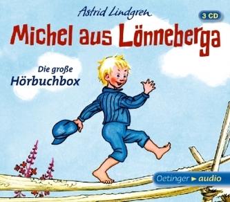 Michel aus Lönneberga - Die große Hörbuchbox, 3 Audio-CDs