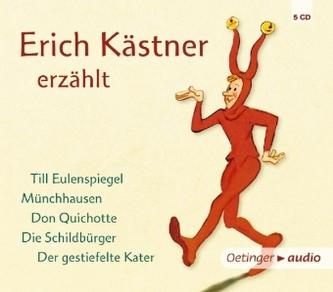 Erich Kästner erzählt, 5 Audio-CDs