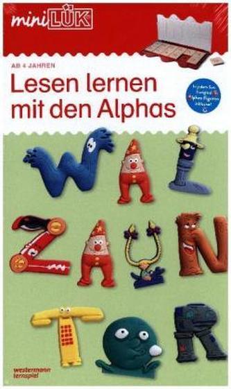 Lesen lernen mit den Alphas. Bd.1+2