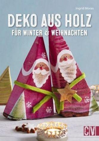 Deko aus Holz für Winter & Weihnachten
