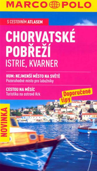 Chorvatské pobřeží Istrie Kvarner