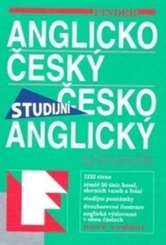 FIN Anglico-český česko-anglický slovník - Studijní