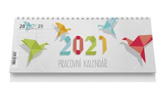 Stolní kalendář pracovní 2021