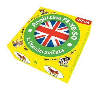 Angličtina PE-XE-SO 2. Domácí zvířata / Krabicová hra