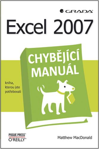 Excel 2007 chybějící manuál