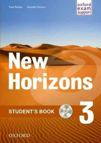 New Horizons 3 Student´s Book with CD-ROM Pack - Radley, Paul