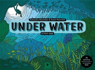 Under Water Activity Book - Mizielinska, Aleksandra