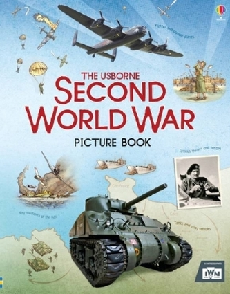 The Usborne Second World War Picture Book - Brook, Henry