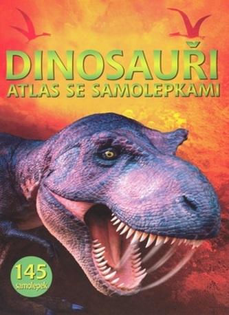 Dinosauři atlas se samolepkami