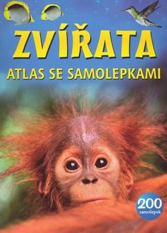 Zvířata atlas se samolepkami