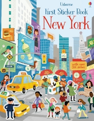 First Sticker Book New York - Maclaine, James