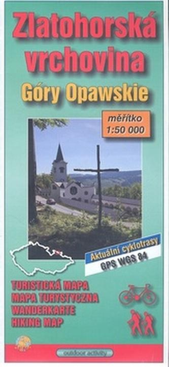 Zlatohorská vrchovina 1:75 000