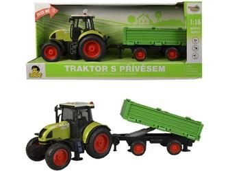 Traktor s vlečkou na setrvačník, 40cm