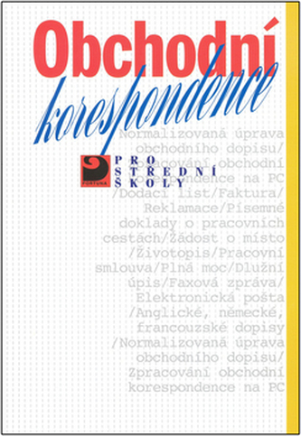 Obchodní korespondence - Náhled učebnice