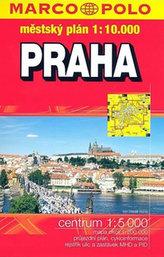 Praha městský plán 1:10 000