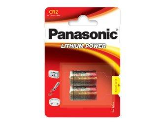 Baterie CR2 PANASONIC lithiová 2BP