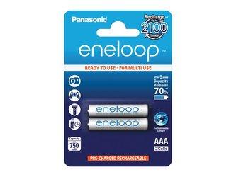 Baterie AAA (R03) nabíjecí 1,2V/750mAh Eneloop PANASONIC 2ks