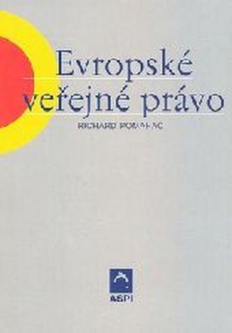 Evropské veřejné právo - Richard Pomahač