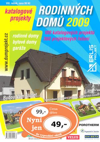 Katalogové projekty rodinných domů 2009