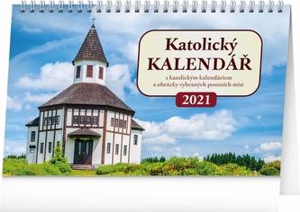 Stolní kalendář Katolický kalendář 2021