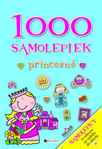 1000 samolepiek Princezné