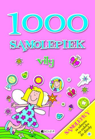 1000 samolepiek Víly