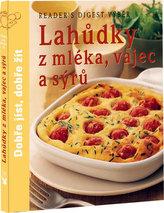 Lahůdky z mléka, vajec a sýrů
