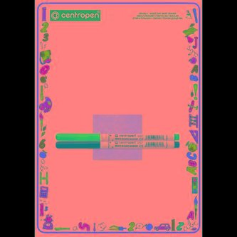 Centropen Oboustraně stíratelná tabulka 7769