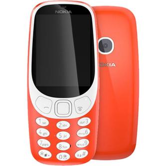 Mobilní telefon NOKIA 3310 DS RED