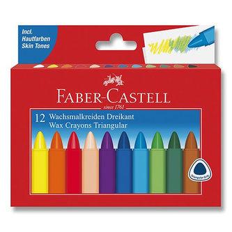 Faber - Castell Voskové pastelky Grip Wax 12 ks