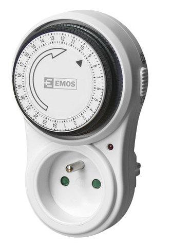 Spínací zásuvka EMOS P5503 mechanická denní