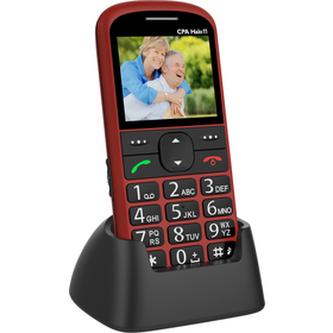 Mobilní telefon CPA HALO 11 ČERVENÝ
