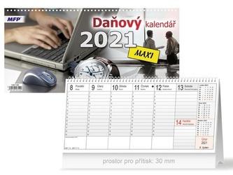 Daňový MAXI - stolní kalendář 2021