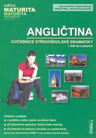 Angličtina cvičebnice středoškolské gramatiky