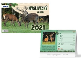 Myslivecký - stolní kalendář 2021