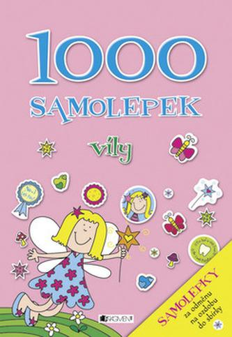 1000 samolepek víly