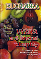 Kuchařka výživa a 4 krevní skupiny
