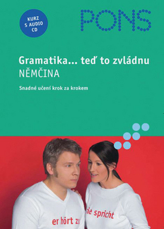 Gramatika-teď to zvládnu NĚMČINA+CD - Náhled učebnice