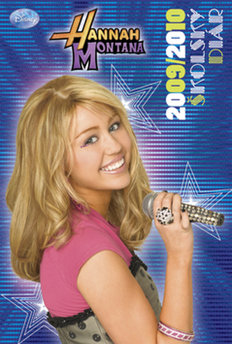 Hannah Montana školský diár 2009/2010