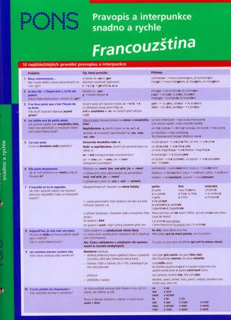 Pravopis a interpunkce snadno a rychle Francouzština