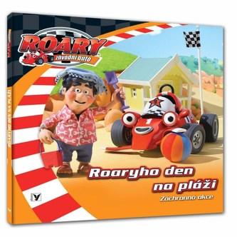Roary závodní auto Roaryho den na pláži