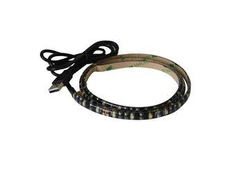 LED pásek s USB Geti GLS31C, 50 cm, studená bílá