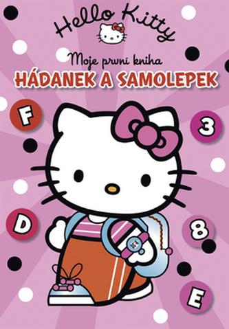 Hello Kitty Moje první kniha hádanek a samolepek
