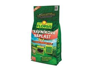 Hnojivo trávníkové FLORIA TRÁVNÍKOVÁ NÁPLAST 3v1 1 kg