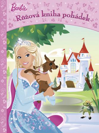 Barbie Růžová kniha pohádek