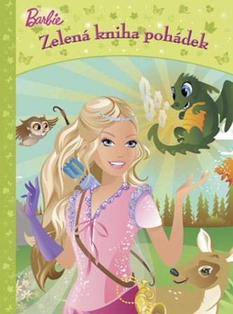 Barbie Zelená kniha pohádek